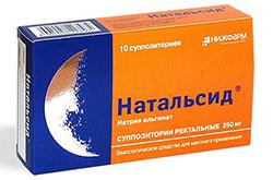 Фармакологическое действие Натальсид