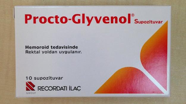 Procto-Glyvenol® при геморрое свечи и крем