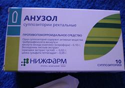 Procto-Glyvenol® аналоги от геморроя
