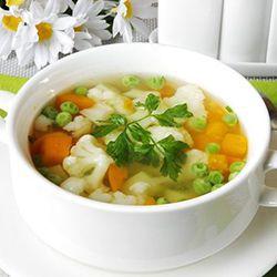Диета после операции Лонго овощной суп