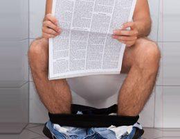 Почему нельзя долго сидеть в туалете
